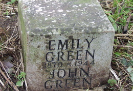 GREEN Emily 1870-1944 and John GREEN