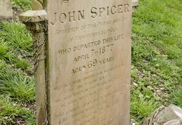 SPICER John 1877 and Mary Ann 1878