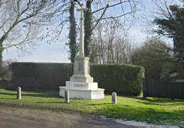 2. War Memorial and gate to St Mary
