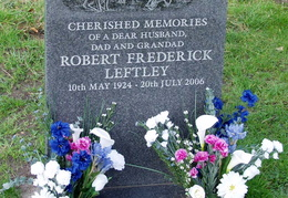 LEFTLEY Robert Frederick 1924-2006