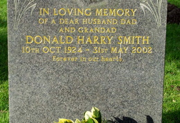 SMITH Donald Harry 1924-2002