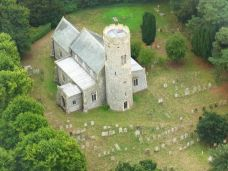 St Peters aerial crop Photo David Avery